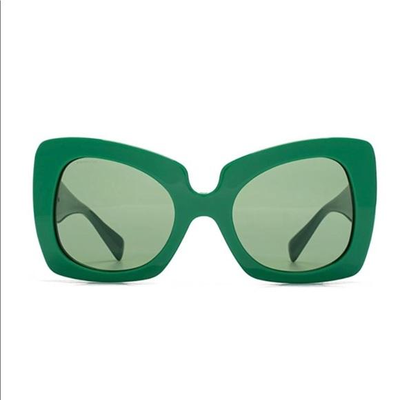 68d500d664e8 Versace Butterfly Medusa Geometric Sunglasses